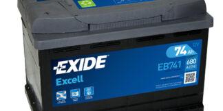Aku EXIDE 12/74 53520 EXCELL